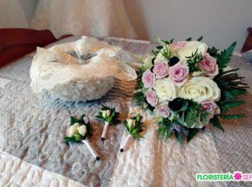 Boda celebrada en Reigosa y decorada por floristería Sefa de Mondoñedo