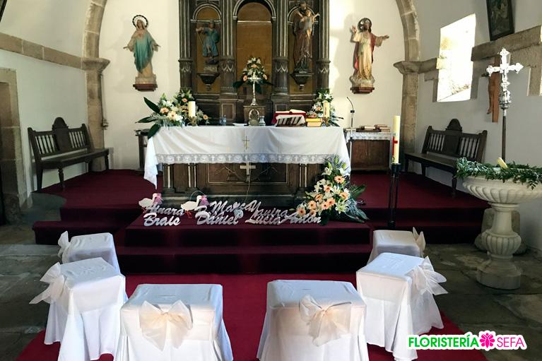 Comuniones y bautizos Floristeria Sefa