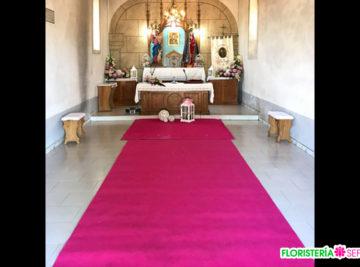 Decoración Boda Jose & Irene en Villalba 23-08-2017 Floristería Sefa